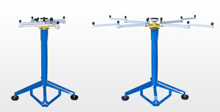 Manual rotating table ROS 1